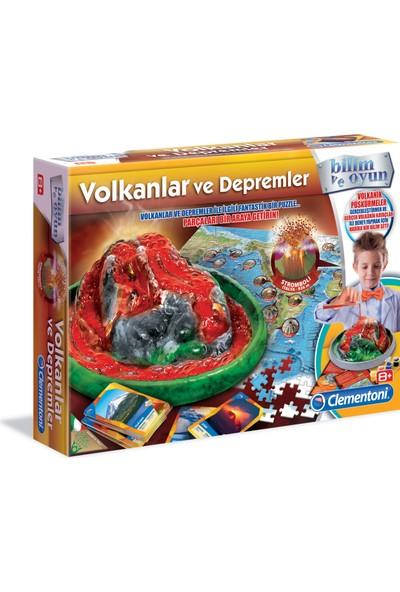 Clementoni Deney Seti - Volkanik Patlama (8Yaş+)