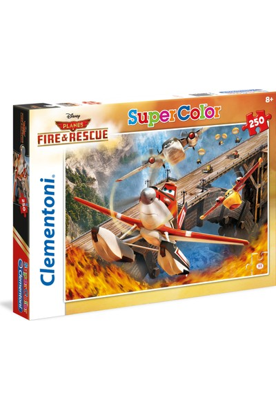 Clementoni 250 Parça Planes Kurtarma Yarışı Puzzle