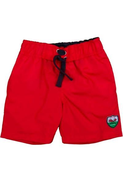 Bebepan Sports Mayo Şort Kırmızı 18-24 Ay