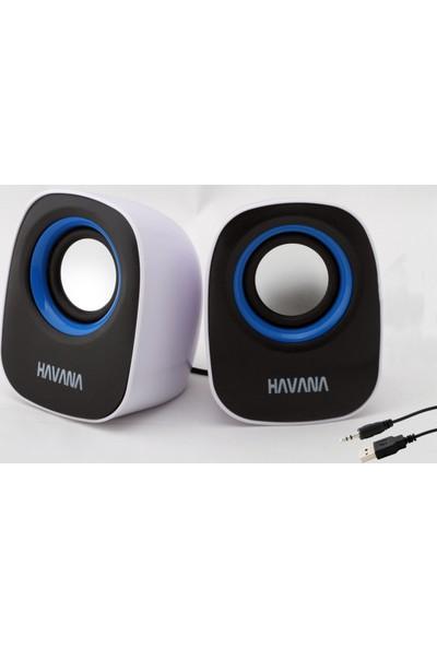 Havana Hoparlör Bilgisayar Pc Tablet Cep Telefonu Notebook Ses Sistemi Speaker Laptop