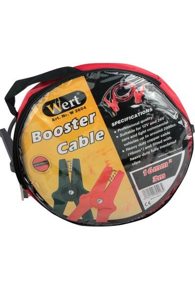 Wert Akü-Takviye Kabloları Ve Şarj Cihazları w 2604