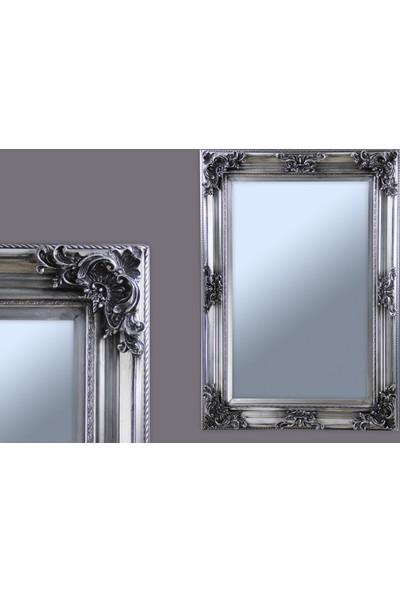 Ancel Antık Gumus Ahsap Ayna 53x83Cm