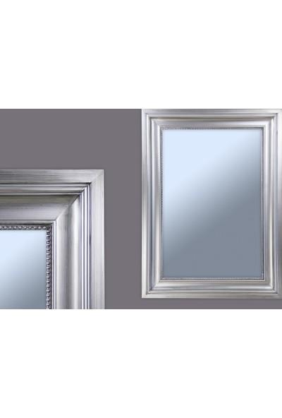 Ancel Antık Gumus Ahsap Ayna 60x90Cm
