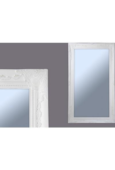 Ancel Beyaz Esk.Ahsap Ayna 60x120Cm