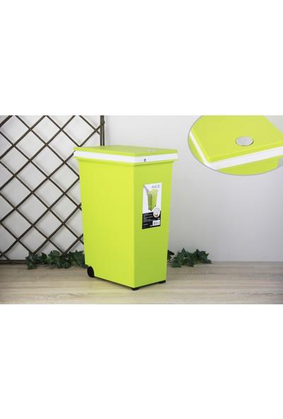 Ancel Dokunmatik Yeşil Çöp Kovası 30Lt