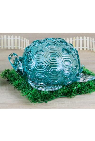 Ancel Mavı Dekoratif Kaplumbaga 31Cm
