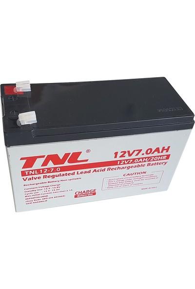 Tnl 12V 7Ah Kuru Tip Ups Aküsü