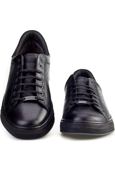 Cabani Bağcıklı Günlük Erkek Ayakkabı Gri