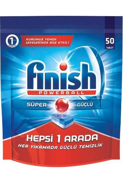 Finish Hepsi Bir Arada 50 Tablet Bulaşık Makinesi Deterjanı