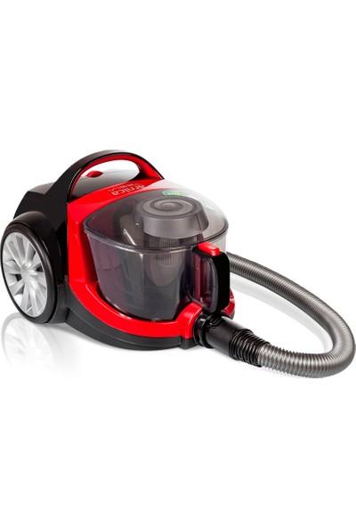 Arnica Tesla Elektrikli Süpürge - Kırmızı