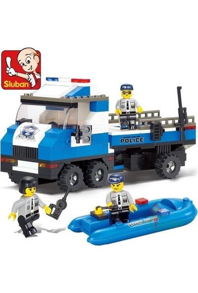 Sluban B0186 Özel Tim Polis Teknesi 202 Parça