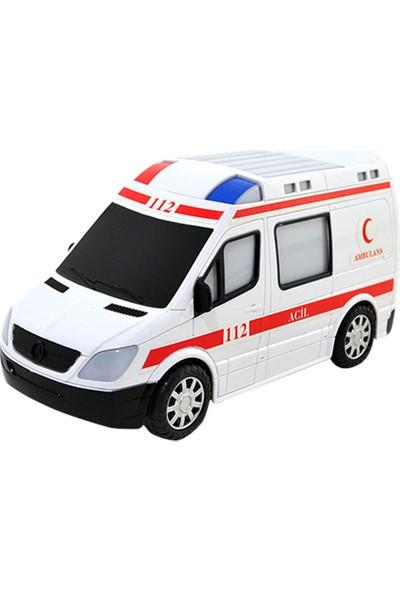 Furkan 30143 Işıklı Sesli Ambulans