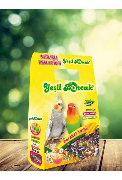Yeşil Boncuk Paraket Kuş Yemi