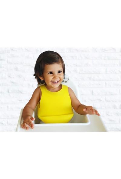 Oioi Silikon Mama Önlüğü Sarı