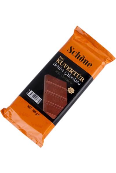 Elitparti Schöne Mini Sütlü Kuvertür Çikolata 200 Gr