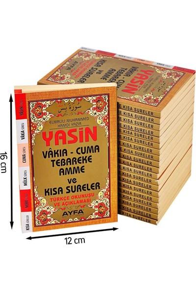 Ayfa Yasin Kitabı Çanta Boy Fihristli 50 Adet