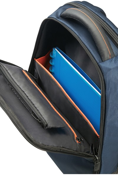 "Samsonite Qibyte 15.6"" Mavi Notebook Sırt Çantası 16N-01-005"
