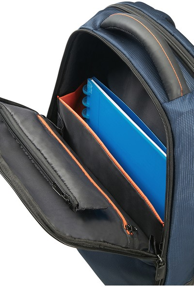 "Samsonite Qibyte 17.3"" Mavi Notebook Sırt Çantası 16N-01-006"