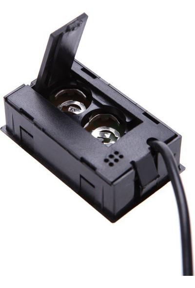 Holdpeak Dijital Problu Nem Ölçer Termometre (Siyah)