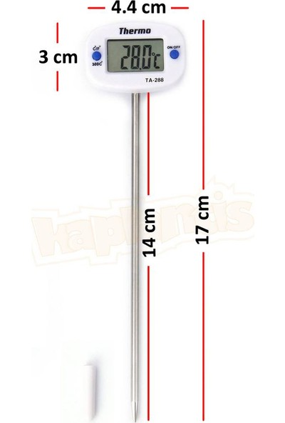Thermo TA-288 Saplamalı Yemek Termometresi