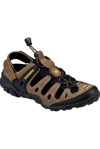 Dockers 216504 Footwear Erkek Sandalet Kahverengi