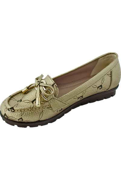 Pierre Cardin 63405 Kadın Günlük Ayakkabı Altın