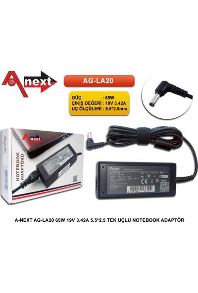 Techas Ag-La20 65W 19V 3.42A 5.5*2.5 Tek Uçlu Notebook Adaptör