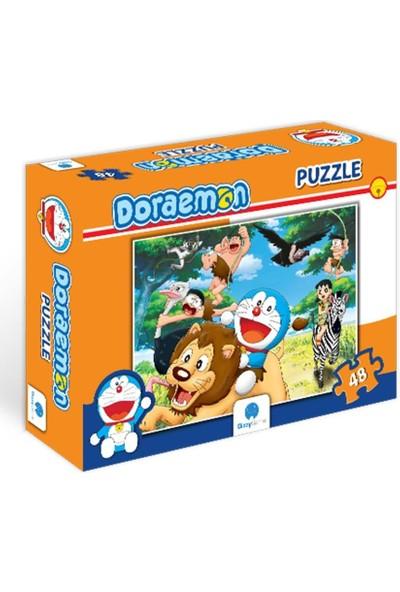 Gizz Game Doraemon Çocuk Puzzle (48 Parça)