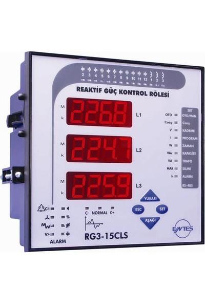 Entes Rg3-15C Reaktif Güç Kontrol Rölesi