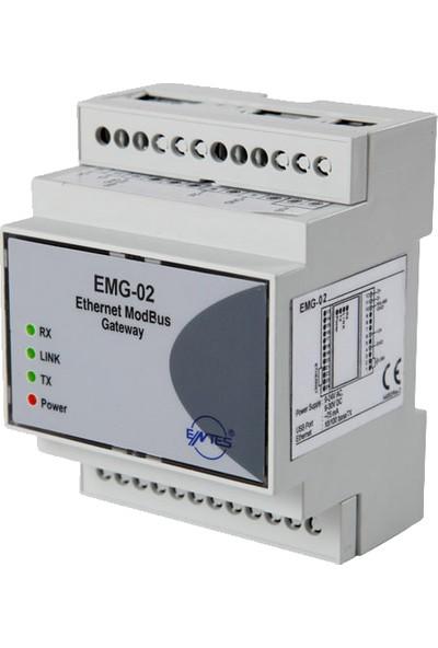 Entes Emg-02 Modbus Ethernet Dönüştürücü
