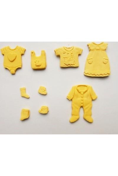 Yıldız Hobi Bebek Giysileri Silikon Kokulu Taş ve Sabun Kalıbı