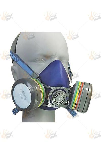 May Safe yarım Yüz Gaz Maskesi