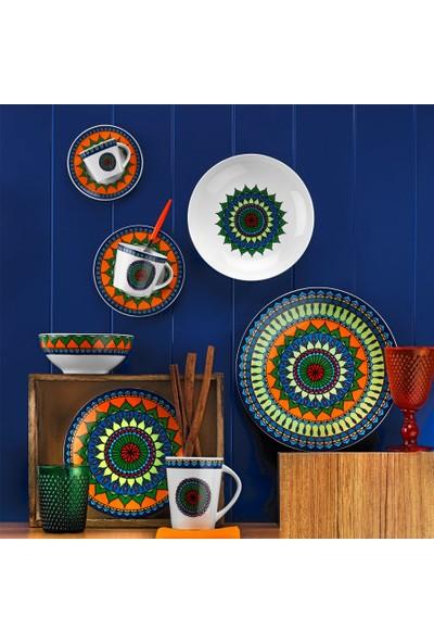 Kütahya Porselen 8982 Dekor 24 Parça Yemek Takımı