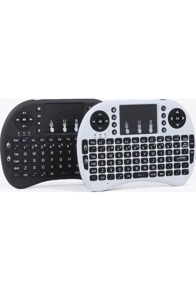 Mini Kablosuz Dokunmatik Klavye Mouse 2.4 Ghz