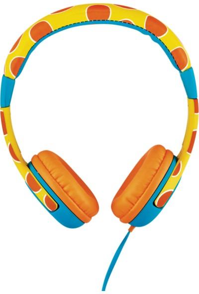 Trust Urban 20952 Spila Çocuklar İçin Kulaküstü Kulaklık Zürafa Desenli