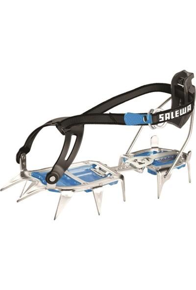SALEWA - Alpinist Combi Yarı Otomatik Steel/Blue - Krampon