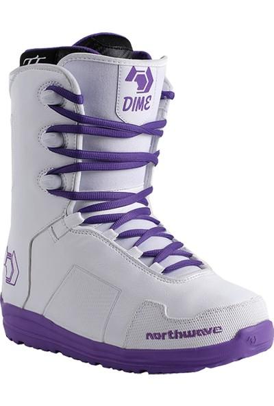 Northwave Dime White Snowboard Ayakkabısı