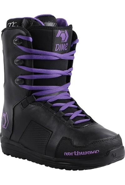 Northwave Dime Black Snowboard Ayakkabısı Siyah