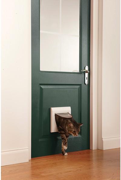 Petsafe Klasik Manuel 4 Yönlü Kilitli Kapı Beyaz