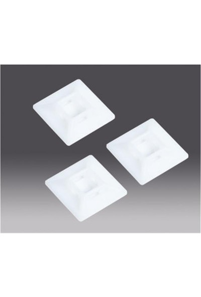 Entes Ts2-1-2020N 19X19Mm Kroşe Yapışkanlı Beyaz