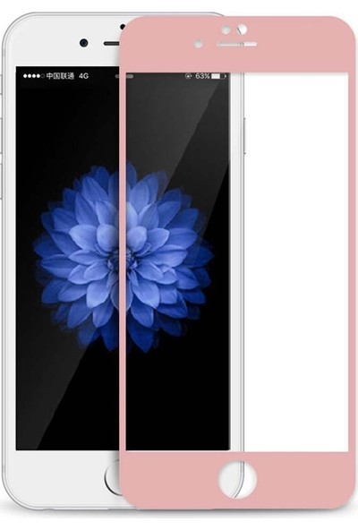 Mustek Apple iPhone 7/7S Full 3D Renkli ( Temperli) Ekran Koruyucu (Kavisler Dahil)