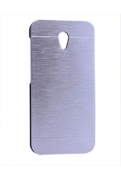 Kny Vodafone Smart Style 7 Kılıf Metal Motomo +Cam