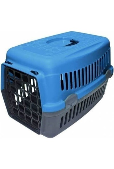 GoodnessPet Taşıma Kabı Küçük Mavi 50 x 32 x 38cm