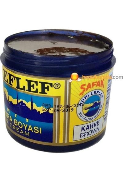 Nuri Leflef Klasik Ayakkabı Boyası Cilasız 200 ml Kahve