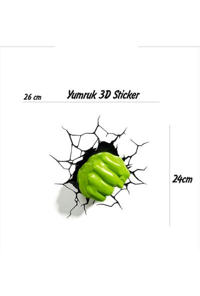 StickerMarket yumruk Sticker(Transparan Baskı)
