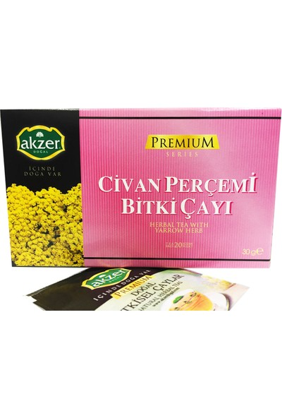 Akzer Civan Perçemi Bitki Çayı