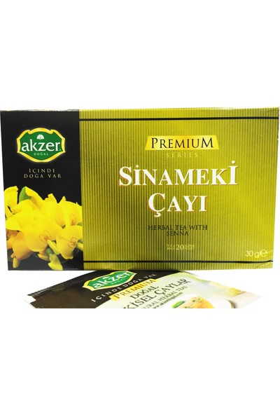 Akzer Sinameki Bitki Çayı