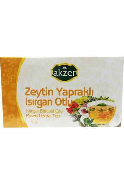 Akzer Zeytin Yapraklı Bitki Çayı