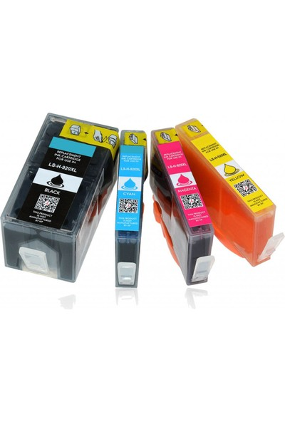 Toner Max® Hp 920Xl / Officejet 6000 / 6500 / 7000 / 7500 Muadil Kartuşları