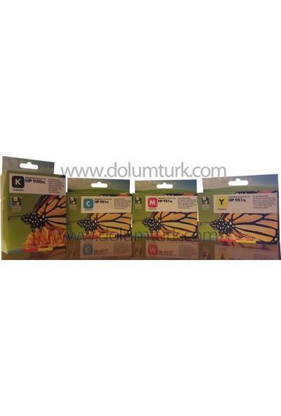 Toner Max® Hp 950Xl / 951Xl Muadil Kartuş / Hp Officejet Pro 251 / 276 / 8100 / 8600 / 8610 / 8620 Muadil Kartuş